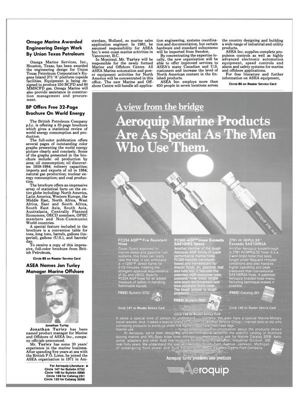 Maritime Reporter Magazine, page 35,  Feb 1986