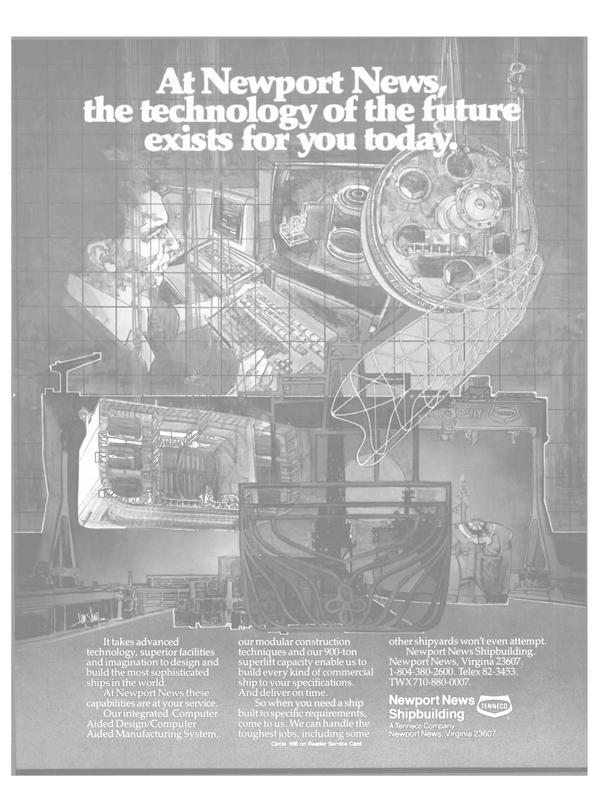 Maritime Reporter Magazine, page 37,  Feb 1986