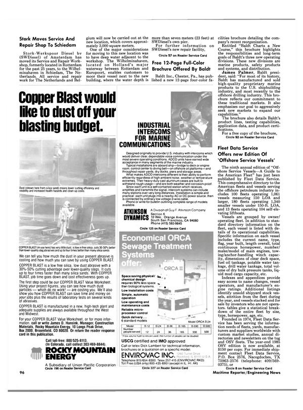 Maritime Reporter Magazine, page 90,  Apr 1986 Pennsylvania