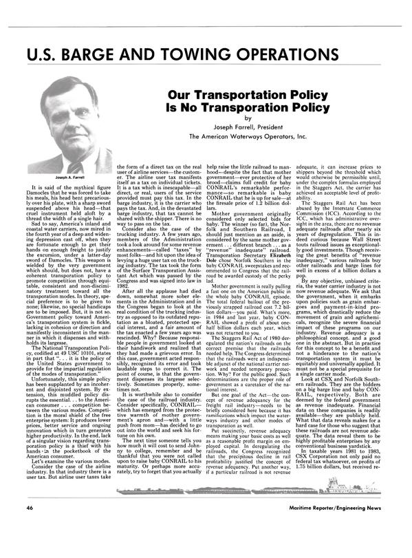 Maritime Reporter Magazine, page 46,  Jun 1986