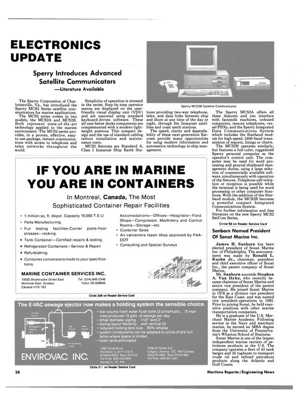 Maritime Reporter Magazine, page 38,  Jul 15, 1986 Hawaii