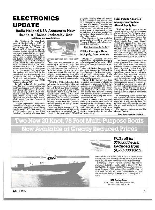 Maritime Reporter Magazine, page 43,  Jul 15, 1986 Alabama