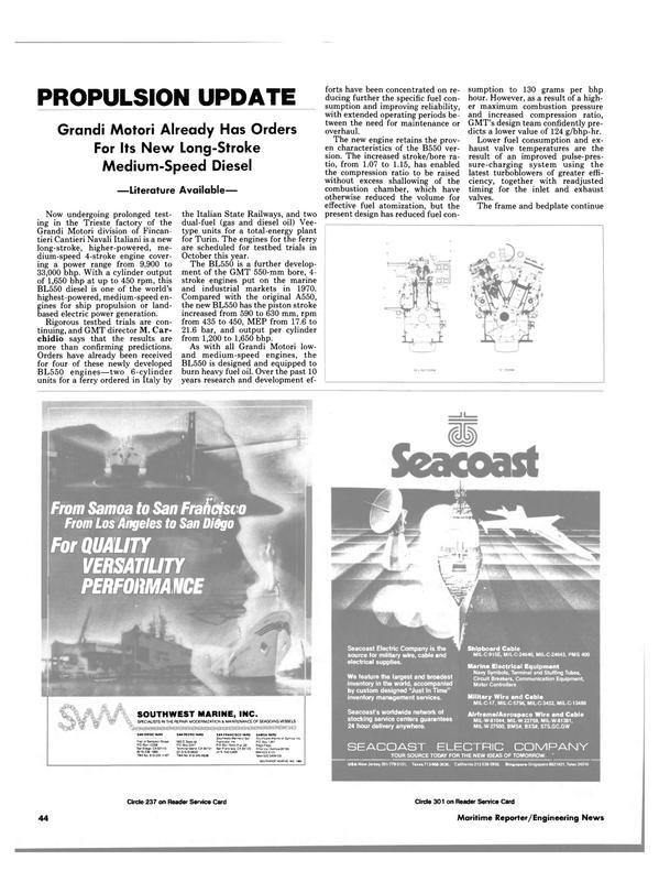 Maritime Reporter Magazine, page 44,  Jul 15, 1986 Texas