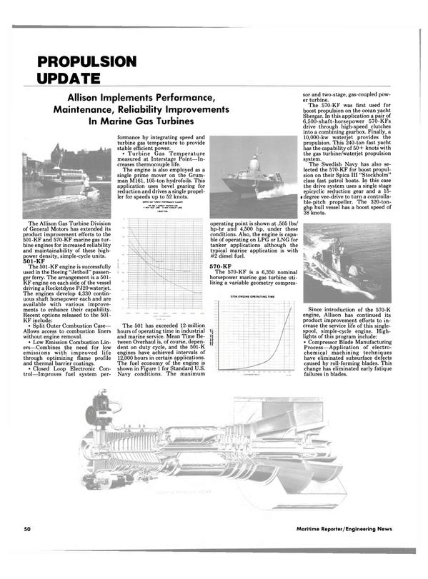 Maritime Reporter Magazine, page 50,  Jul 15, 1986 Swedish Navy