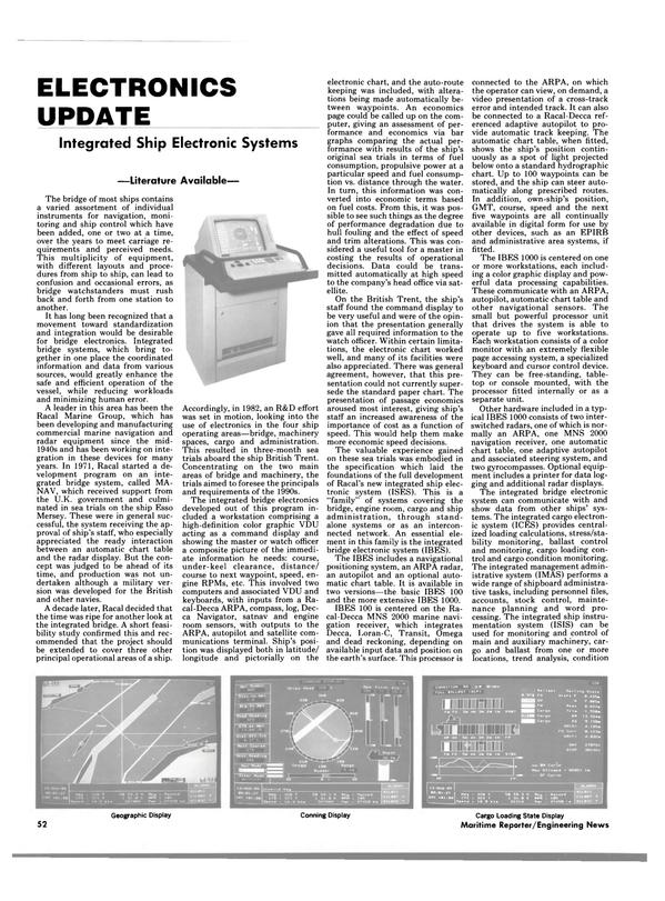 Maritime Reporter Magazine, page 52,  Jul 15, 1986
