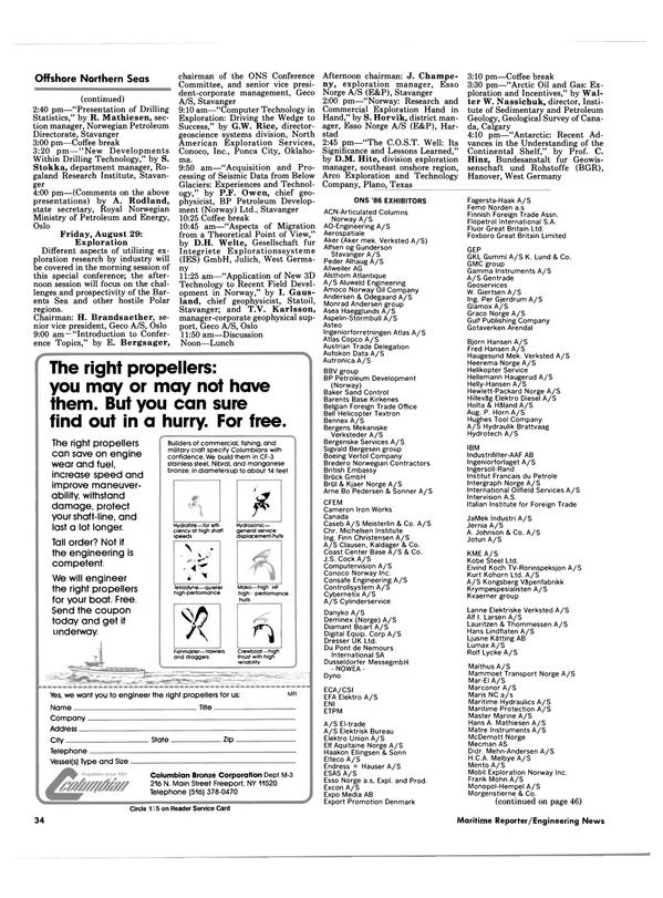 Maritime Reporter Magazine, page 32,  Aug 1986 Antarctic