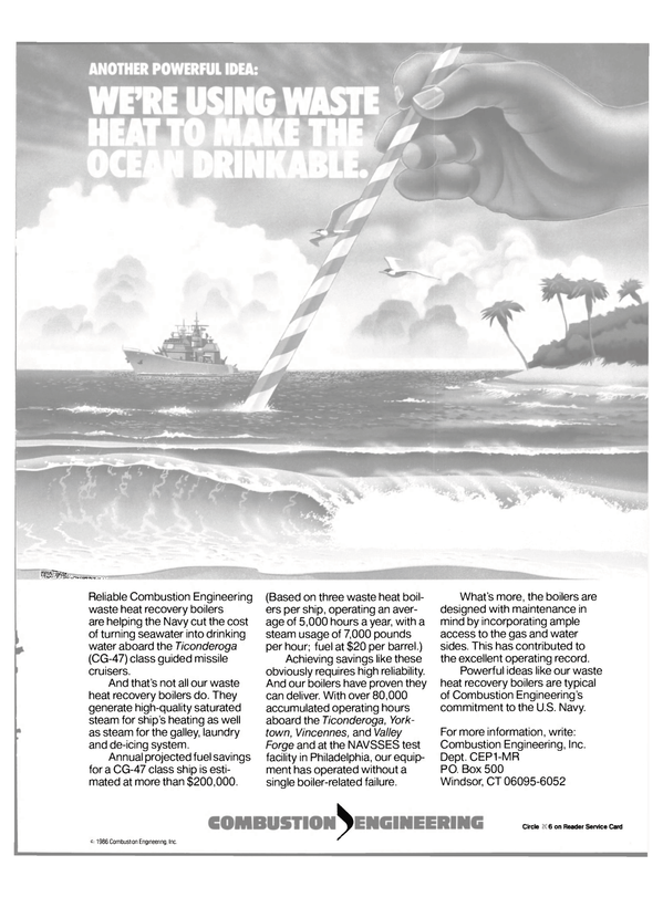 Maritime Reporter Magazine, page 37,  Sep 1986 United States Navy