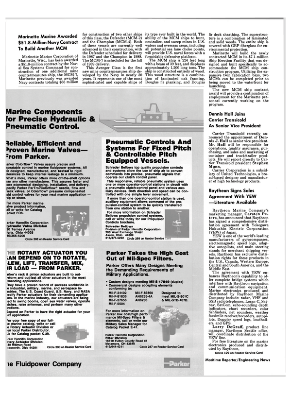 Maritime Reporter Magazine, page 18,  Oct 1986 Middle East