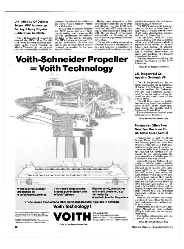 Maritime Reporter Magazine, page 18,  Nov 1986