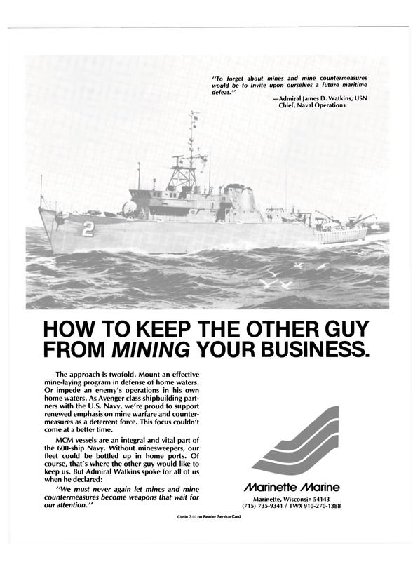 Maritime Reporter Magazine, page 19,  Nov 1986