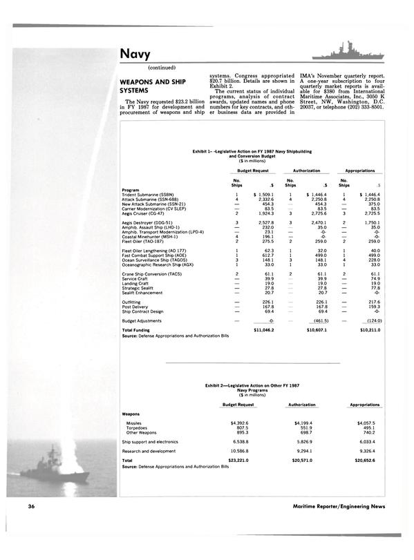 Maritime Reporter Magazine, page 34,  Dec 1986 electronics