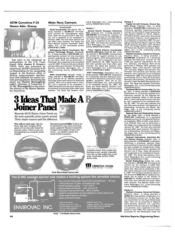 Maritime Reporter Magazine, page 42,  Dec 1986 Illinois