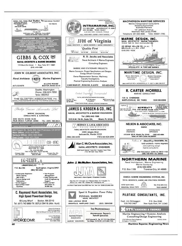Maritime Reporter Magazine, page 66,  Dec 1986 West Coast
