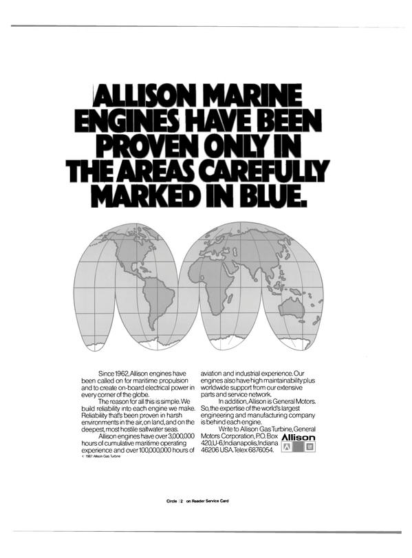 Maritime Reporter Magazine, page 26,  Feb 1988