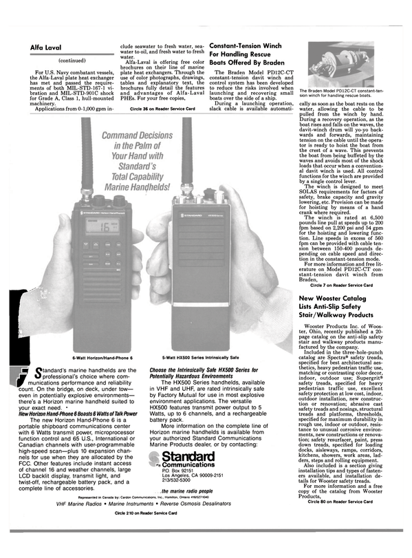 Maritime Reporter Magazine, page 10,  Mar 1988 Ohio