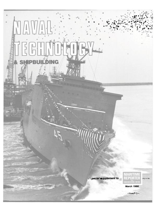 Maritime Reporter Magazine, page 23,  Mar 1988