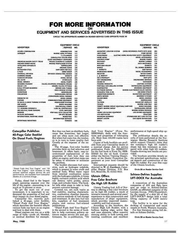 Maritime Reporter Magazine, page 57,  May 1988 AUSTIN GAS LIQUID SEPARATORS