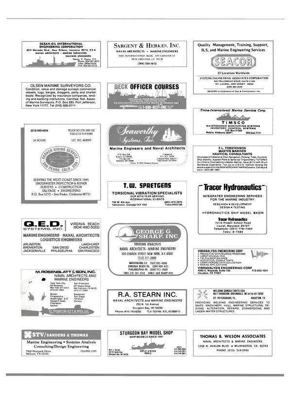 Maritime Reporter Magazine, page 99,  Jun 1988