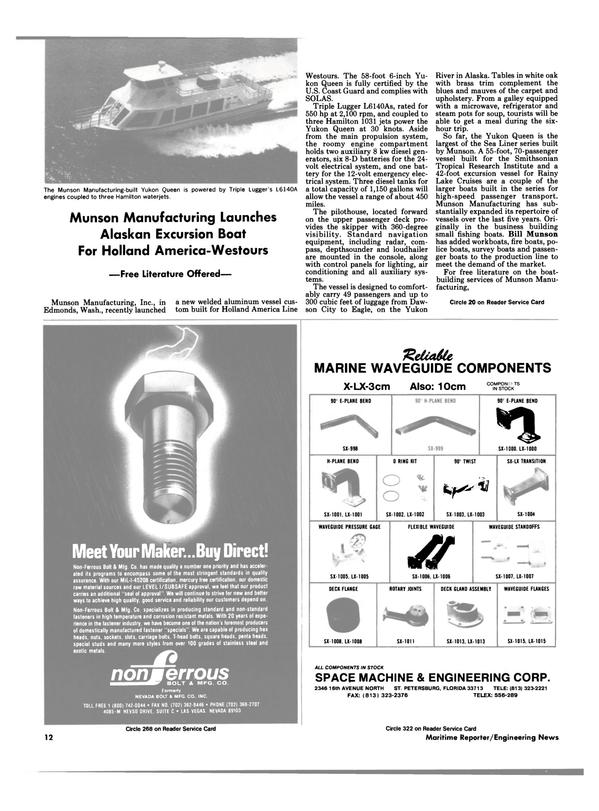 Maritime Reporter Magazine, page 10,  Jun 1988