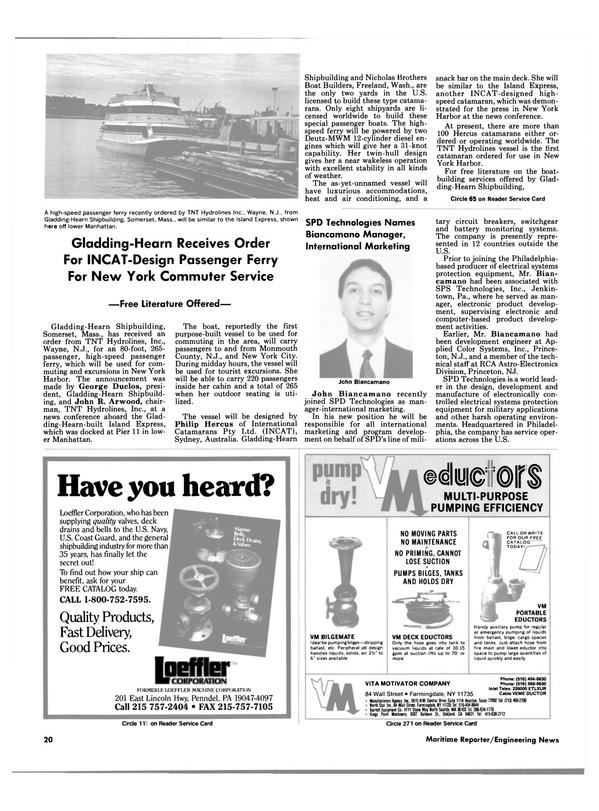 Maritime Reporter Magazine, page 18,  Jun 1988
