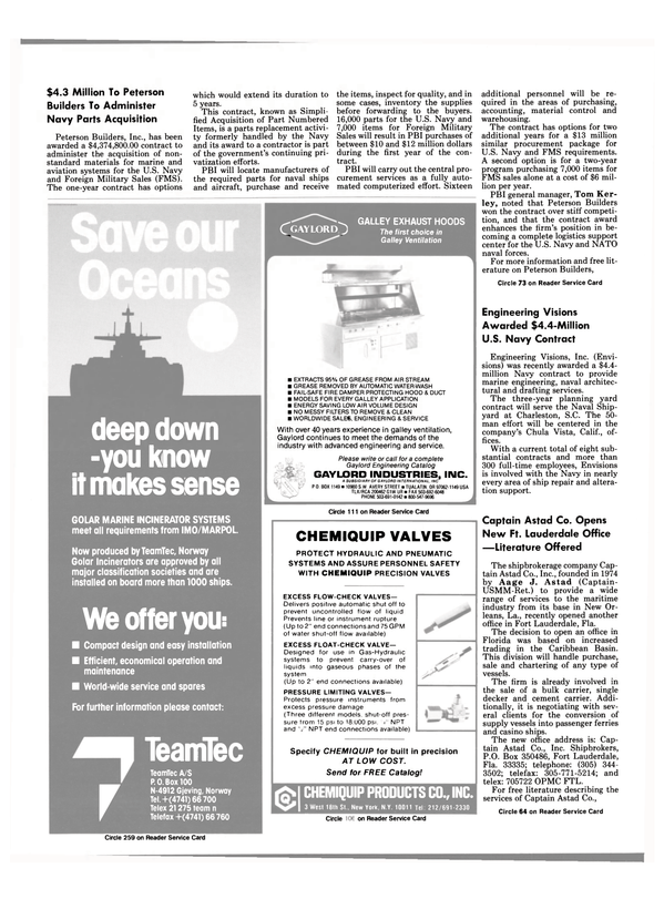 Maritime Reporter Magazine, page 6,  Jun 1988