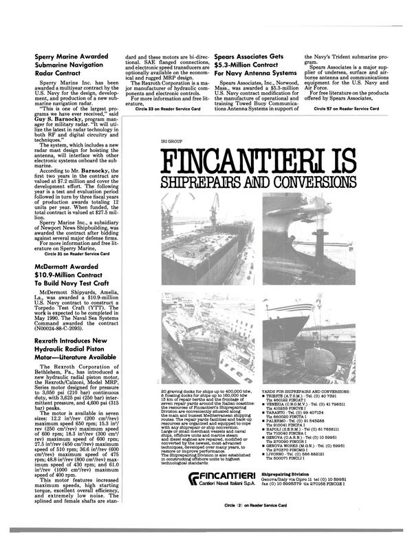 Maritime Reporter Magazine, page 83,  Jun 1988