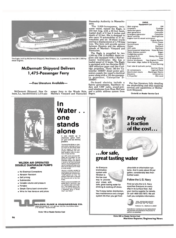 Maritime Reporter Magazine, page 90,  Jun 1988