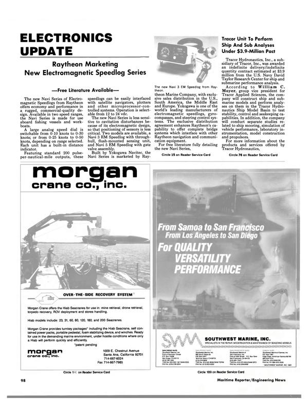 Maritime Reporter Magazine, page 92,  Jun 1988