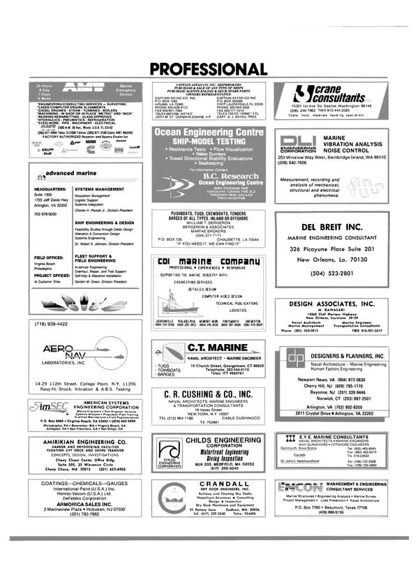 Maritime Reporter Magazine, page 97,  Jun 1988