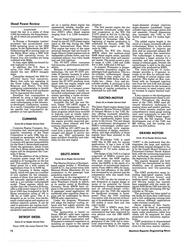 Maritime Reporter Magazine, page 10,  Jul 1988 Indiana