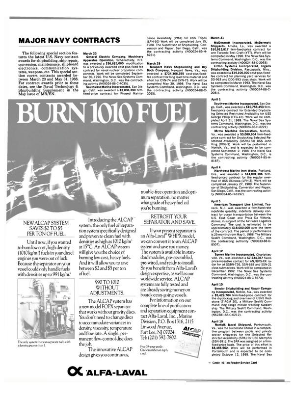 Maritime Reporter Magazine, page 28,  Jul 1988