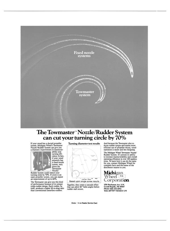 Maritime Reporter Magazine, page 36,  Jul 1988