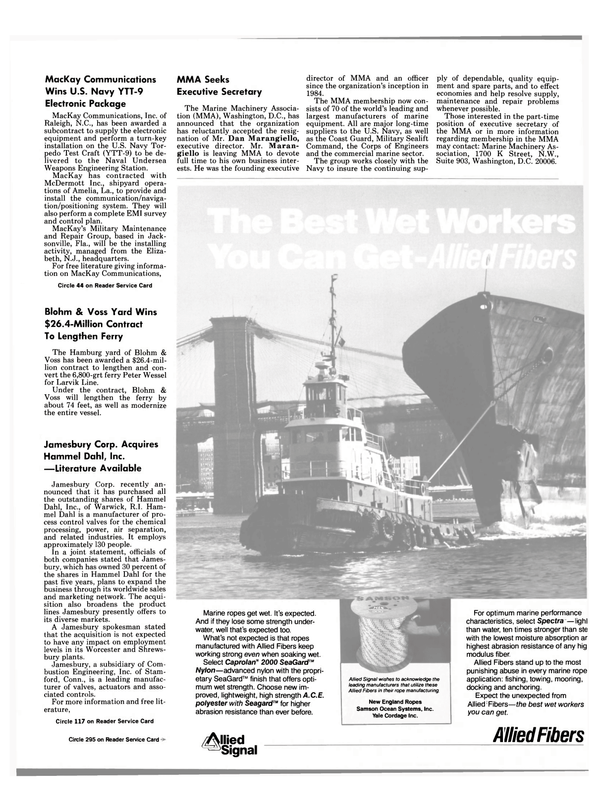 Maritime Reporter Magazine, page 49,  Sep 1988