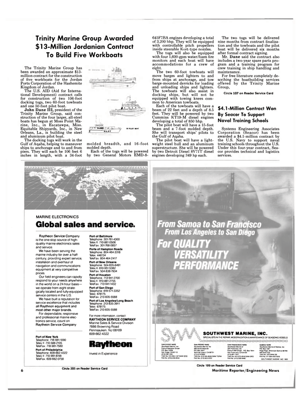 Maritime Reporter Magazine, page 4,  Sep 1988