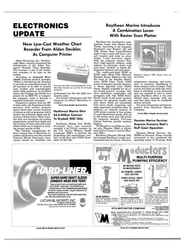 Maritime Reporter Magazine, page 58,  Sep 1988