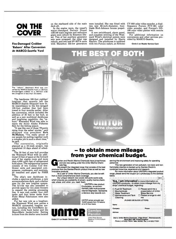 Maritime Reporter Magazine, page 22,  Oct 1988