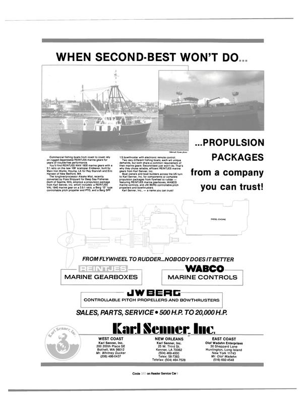 Maritime Reporter Magazine, page 36,  Oct 1988