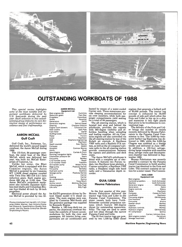 Maritime Reporter Magazine, page 60,  Nov 1988 Daniel Stuffing