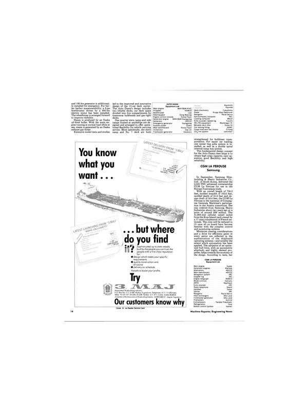 Maritime Reporter Magazine, page 10,  Dec 1988