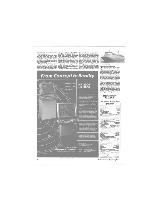 Maritime Reporter Magazine, page 12,  Dec 1988 Mitsubishi 6L