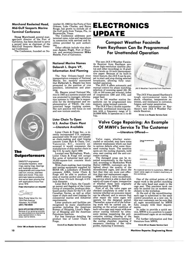 Maritime Reporter Magazine, page 8,  Feb 1989 British Columbia