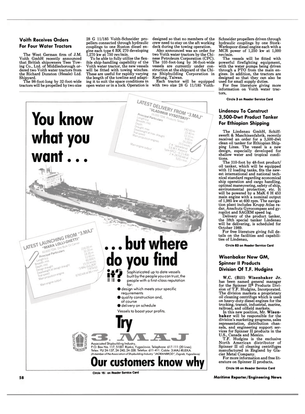 Maritime Reporter Magazine, page 56,  Feb 1989 Association of Shipbuilding Industry