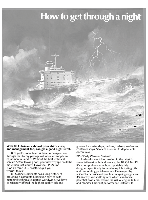 Maritime Reporter Magazine, page 42,  Apr 1989 BP