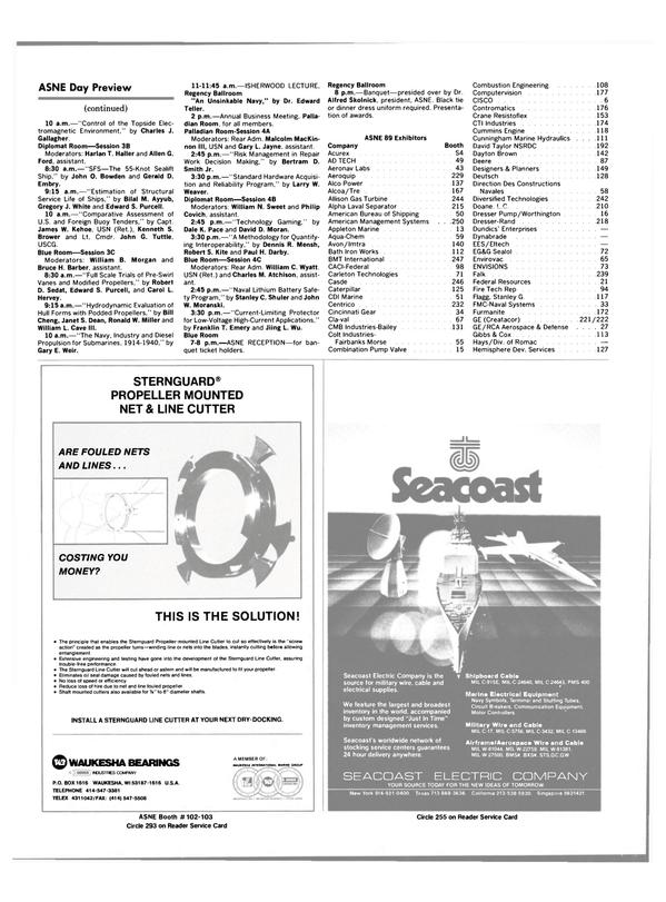 Maritime Reporter Magazine, page 54,  Apr 1989