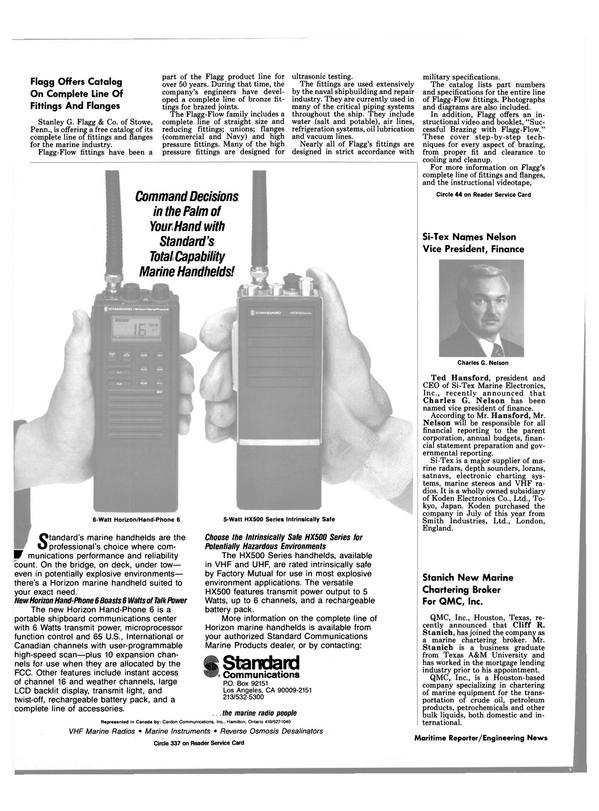 Maritime Reporter Magazine, page 64,  Apr 1989