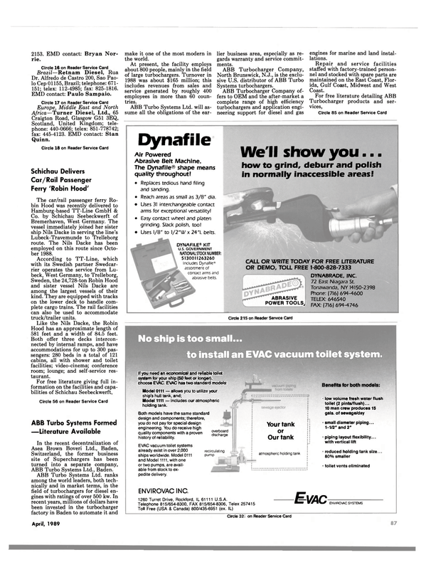 Maritime Reporter Magazine, page 85,  Apr 1989 Middle East