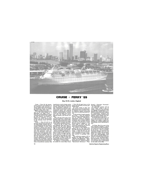 Maritime Reporter Magazine, page 10,  May 1989
