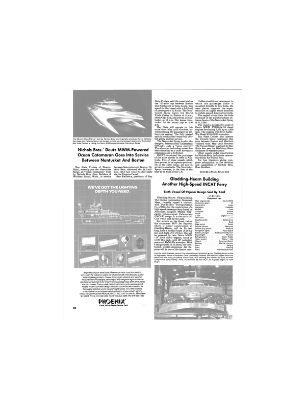 Maritime Reporter Magazine, page 18,  May 1989