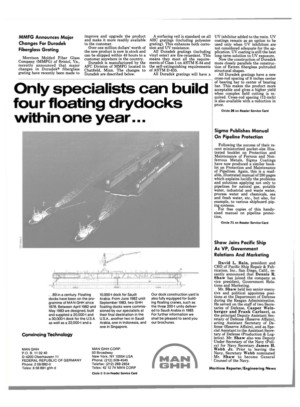 Maritime Reporter Magazine, page 18,  Jun 1989 California