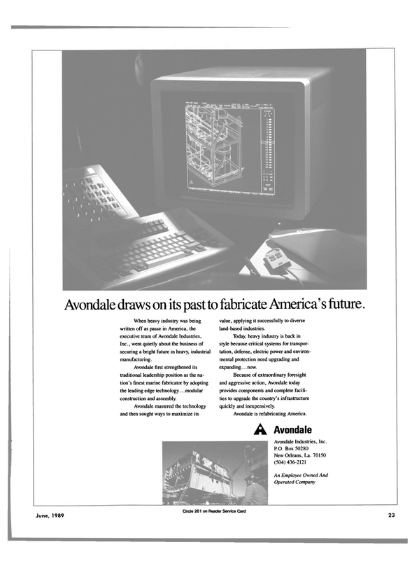 Maritime Reporter Magazine, page 19,  Jun 1989 America